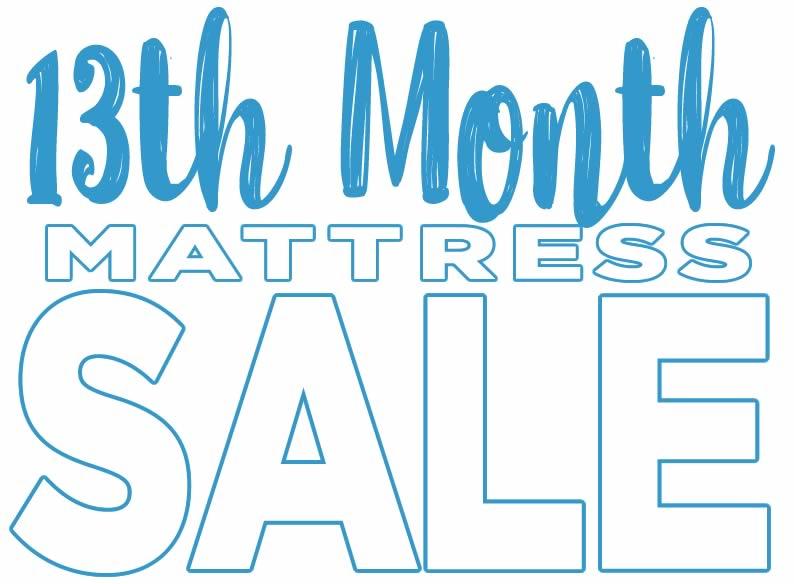 13th Month Mattress Sale