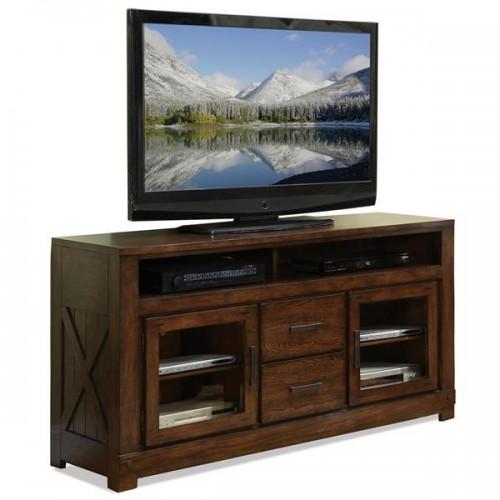 Windridge Glass Door Tv Console