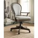 Belmeade Scroll Back Upholstered Desk Chair