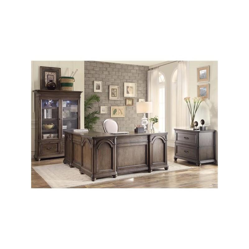 Belmeade Round Back Upholstered Desk Chair