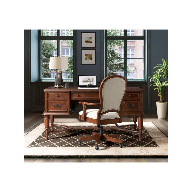 Clinton Hill Round Back Uph Desk Chair
