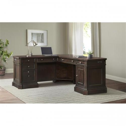 Rosemoor L-Desk And Return