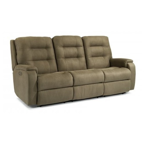 Arlo Power Reclining Sofa with Power Headrests & Lumbar Collection
