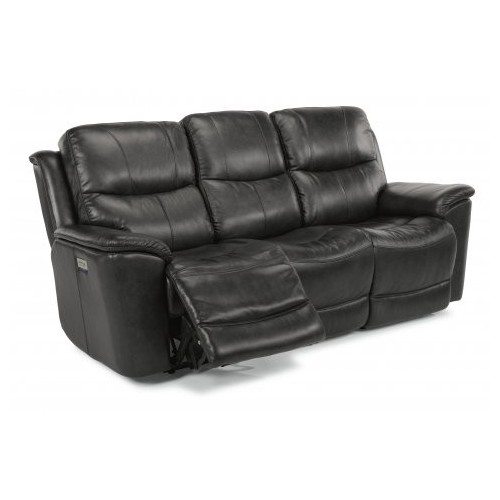 Cade Power Reclining Sofa with Power Headrests & Lumbar Collection